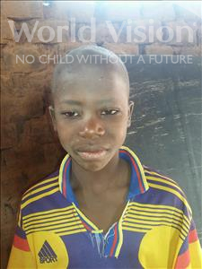 Choose a child to sponsor, like this little boy from Sirba, Souley age 7