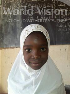 Kalifatou, aged 8, from Niger, is hoping for a World Vision sponsor