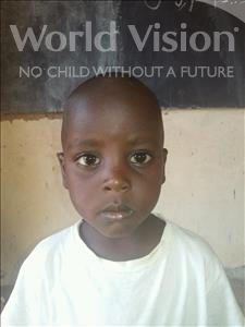 Choose a child to sponsor, like this little boy from Sirba, Samssou age 7