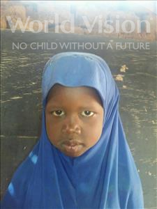 Choose a child to sponsor, like this little girl from Sirba, Fati age 6