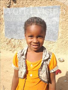 Rabi, aged 6, from Niger, is hoping for a World Vision sponsor