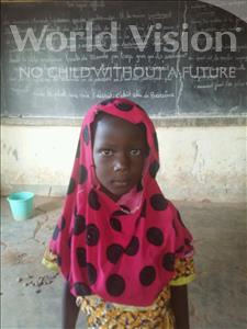 Choose a child to sponsor, like this little girl from Sirba, Mourdjanatou age 6