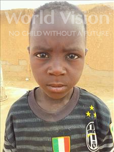 Choose a child to sponsor, like this little boy from Sirba, Zilkif age 6