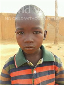 Choose a child to sponsor, like this little boy from Sirba, Djibril age 6