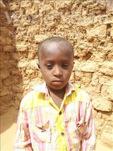 Choose a child to sponsor, like this little boy from Sirba, Tanimoune age 6