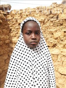 Choose a child to sponsor, like this little girl from Sirba, Marjanatou age 9