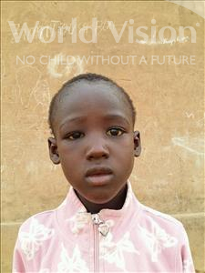 Choose a child to sponsor, like this little boy from Sirba, Abassa age 8
