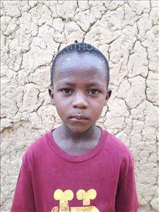 Choose a child to sponsor, like this little boy from Sirba, Ibrahim age 7