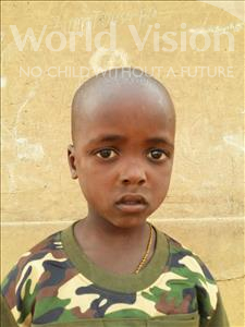 Kadri, aged 5, from Niger, is hoping for a World Vision sponsor