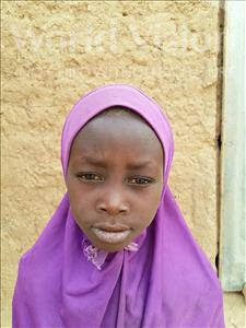 Choose a child to sponsor, like this little girl from Sirba, Nahima age 7