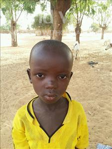 Choose a child to sponsor, like this little boy from Sirba, Imarana age 6