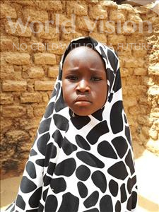 Choose a child to sponsor, like this little girl from Sirba, Nafissa age 5