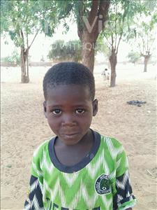 Choose a child to sponsor, like this little boy from Sirba, Zouberou age 4