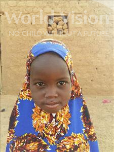 Choose a child to sponsor, like this little girl from Sirba, Raouda age 4