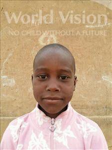 Choose a child to sponsor, like this little boy from Sirba, Sideissou age 6