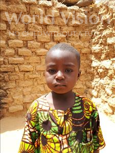 Choose a child to sponsor, like this little boy from Sirba, Abdoul Raouf age 4