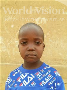 Tataou, aged 5, from Niger, is hoping for a World Vision sponsor