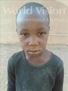 Choose a child to sponsor, like this little boy from Sirba, Abbacar age 5