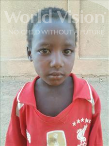 Abdoulafissou, aged 5, from Niger, is hoping for a World Vision sponsor