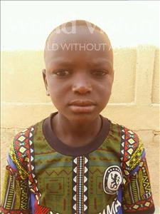 Choose a child to sponsor, like this little boy from Sirba, Djabri age 10