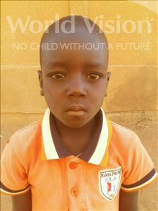 Choose a child to sponsor, like this little boy from Sirba, Boubacar age 6