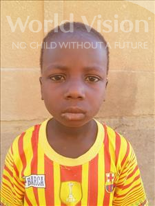 Abdoulaziz, aged 8, from Niger, is hoping for a World Vision sponsor