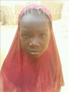 Choose a child to sponsor, like this little girl from Sirba, Nanafirdassi age 8