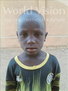 Choose a child to sponsor, like this little boy from Sirba, Boureima age 6