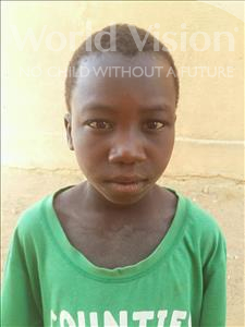 Choose a child to sponsor, like this little boy from Sirba, Moutalibou age 8