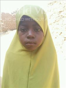 Choose a child to sponsor, like this little girl from Sirba, Aichatou age 7