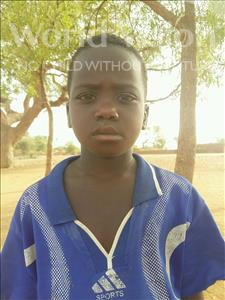 Choose a child to sponsor, like this little boy from Sirba, Abdoulheiyou age 7