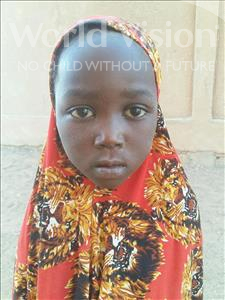 Choose a child to sponsor, like this little girl from Sirba, Aissatou age 6