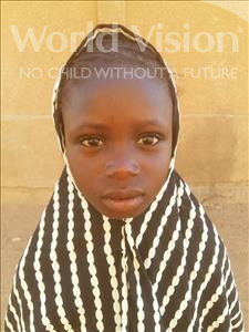Choose a child to sponsor, like this little girl from Sirba, Oumou age 9