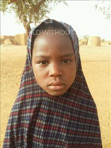 Choose a child to sponsor, like this little girl from Sirba, Soureya age 8