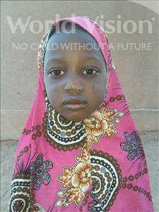 Choose a child to sponsor, like this little girl from Sirba, Balkissa age 5