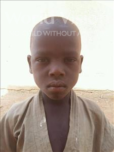 Choose a child to sponsor, like this little boy from Sirba, Ismail age 7