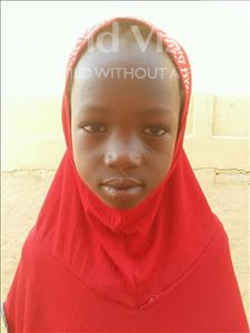 Feiza, aged 7, from Niger, is hoping for a World Vision sponsor