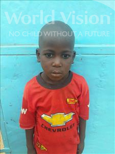 Choose a child to sponsor, like this little boy from Sirba, Djabri age 6
