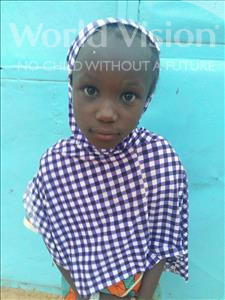 Choose a child to sponsor, like this little girl from Sirba, Tchana age 5