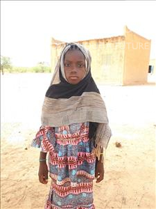 Choose a child to sponsor, like this little girl from Komabangou, Oumou age 12