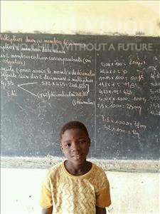 Choose a child to sponsor, like this little boy from Komabangou, Douda age 10
