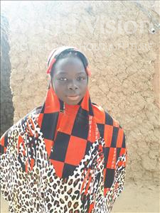 Akainatou, aged 12, from Niger, is hoping for a World Vision sponsor