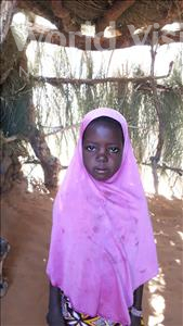 Choose a child to sponsor, like this little girl from Komabangou, Warey age 8