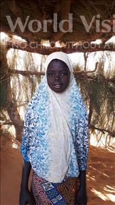 Choose a child to sponsor, like this little girl from Komabangou, Kadidja age 10