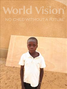 Choose a child to sponsor, like this little boy from Komabangou, Mohamed Nazirou age 9