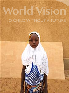 Choose a child to sponsor, like this little girl from Komabangou, Salamatou age 9