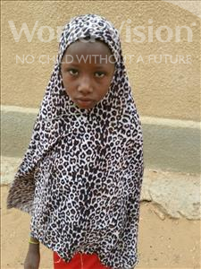 Choose a child to sponsor, like this little girl from Komabangou, Mariama age 9