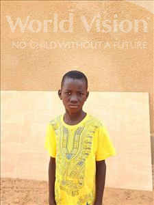 Abdouraoufou, aged 10, from Niger, is hoping for a World Vision sponsor