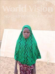 Choose a child to sponsor, like this little girl from Komabangou, Fadila age 10