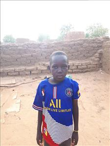 Choose a child to sponsor, like this little boy from Komabangou, Taibou age 9